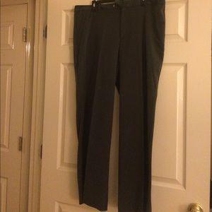 Old Navy Dark Gray Wide Leg Dress Pants